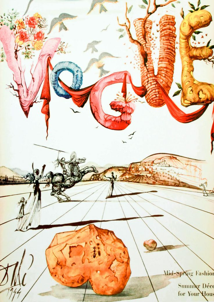 Vogue by Salvador Dalí (II)