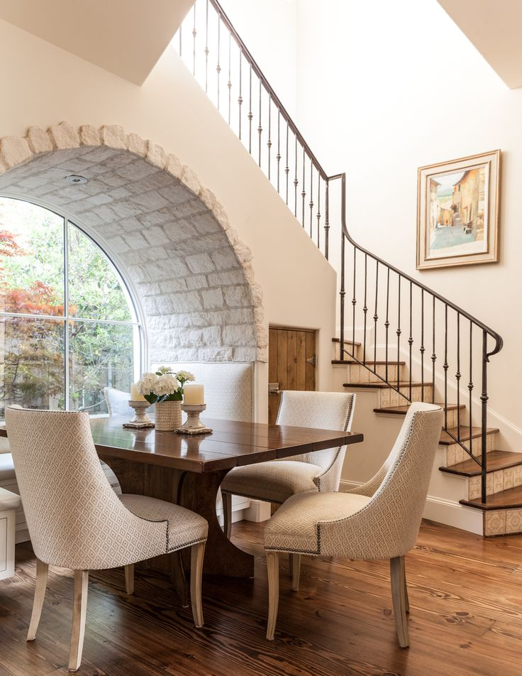 Dining Table Near Stairs