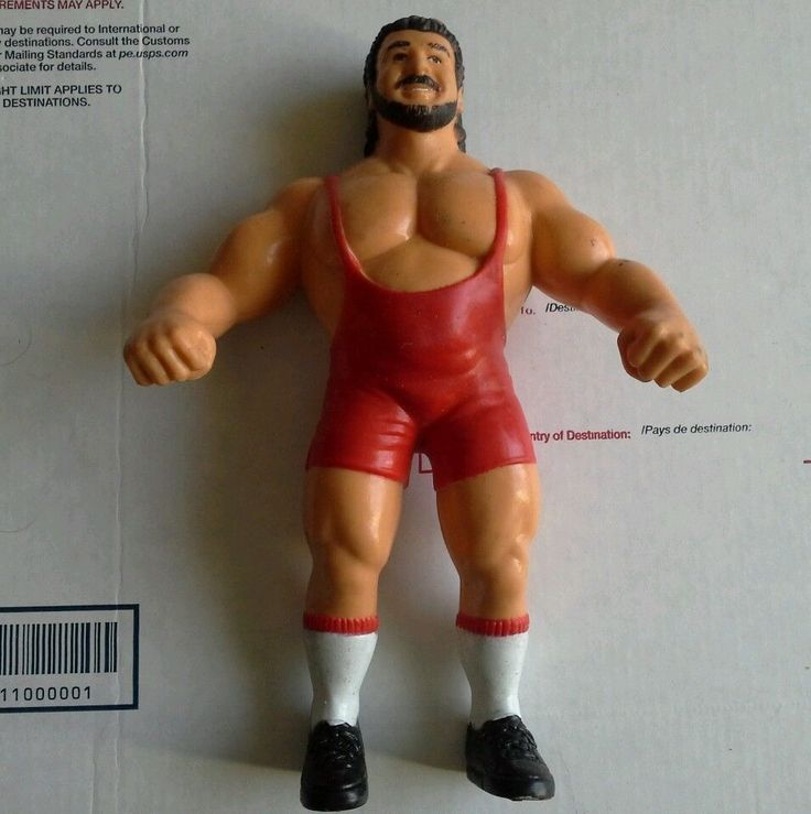 WWE LJN action figure Ted Arcidi #LJN