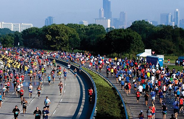 The 50 Best Half-Marathons in the U.S. - Chicago Half Marathon, Sept 7, 2014