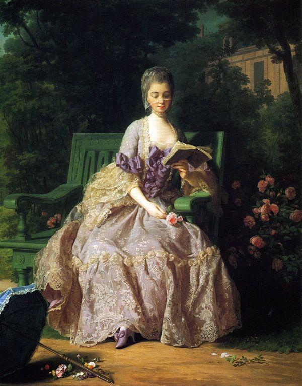 Marie-Thérèse-Louise de Savoie (Maria Teresa Luisa di Savoia), princesse de Lamballe ; Amie de la dauphine Marie-Antoinette qui, devenue reine, la nomma surintendante de sa maison