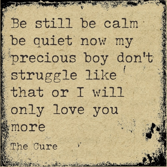 Songtext von The Cure - Lullaby Lyrics