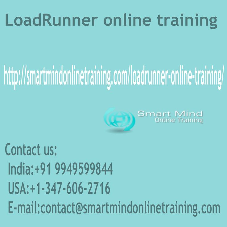 "LoadRunner online training The courses that are LOADRUNNER helps you to pupils to obtain positioning soon after program conclusion. The ,real-time LOADRUNNER task situations instruction that is useful helps you to focus on LOADRUNNER tasks. The LOADRUNNER training curriculum assists each pupil to attain their objective in profession that is LOADRUNNER LoadRunner online training. <a href="" http://smartmindonlinetraining.com/loadrunner-online-training/""> LoadRunner Online training </a>"