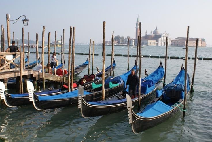 Гондолы в Венеции Италия