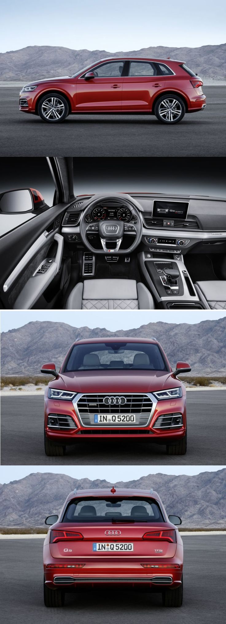 New Audi Q5 2017 SUV.
