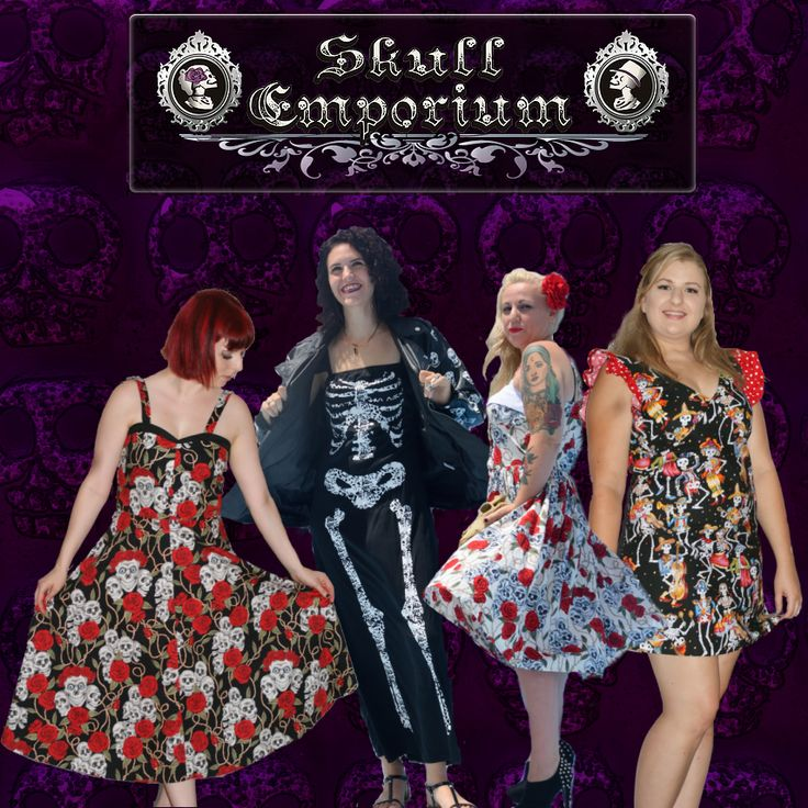 A dress for every skullie! Find your style here: http://www.skullemporium.com.au/#!dresses/jx1ua