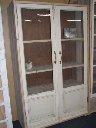steigerhout kast oude deuren