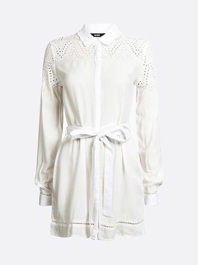 Rosly shirt #white #beach #fashion #summer #shirt #bikbok