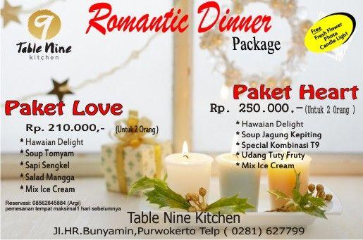 Romantic Dinner Package