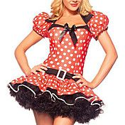 Leuke Muis Rode Stippen Women's Costume – EUR € 24.74