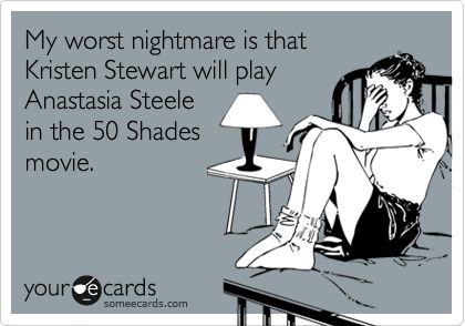 No but for real. She can't!Amen, Better, 50 Shades, Ahhh, Real Lol, So True, Agree, Actresses, Worst Nightmare