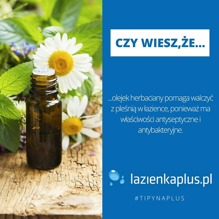 #tipynaplus - porady i ciekawostki dla łazienki i kuchni.   #olejek #herbaciany #pleśń #DIY #tips #sprzątanie