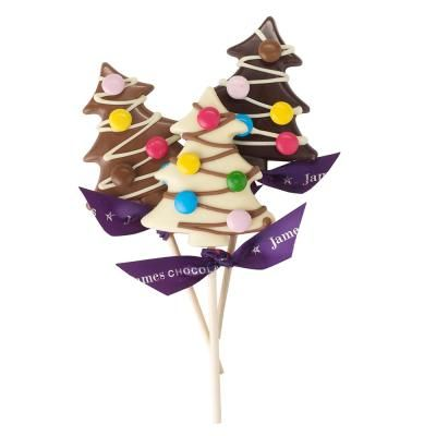 Christmas Tree Dark Chocolate Lolly #NGCSHOPSWISHLIST