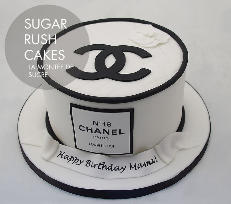 Chanel cake for 8