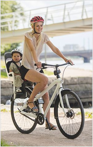 biking with your kids can be fun for the whole family and comes with a host of benefits. Here's how to get out with the younger kiddos.