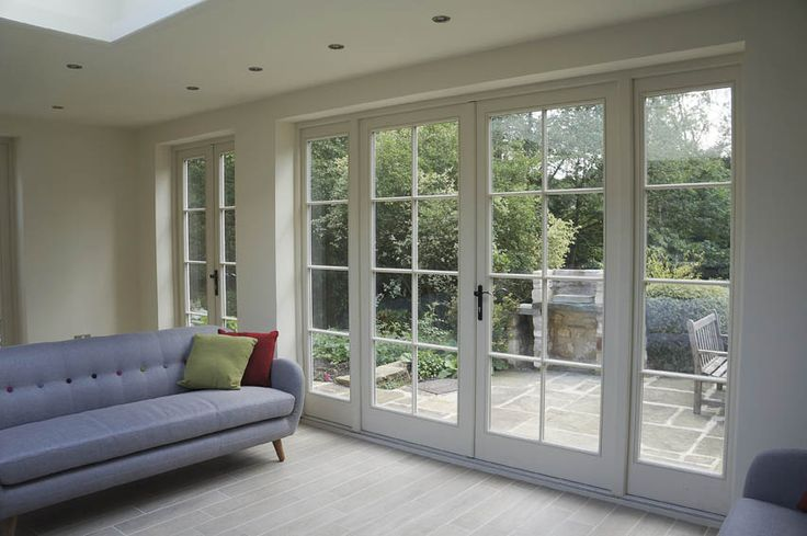 bay window curtain ideas living room blue rooms best 25+ french doors on pinterest | ...