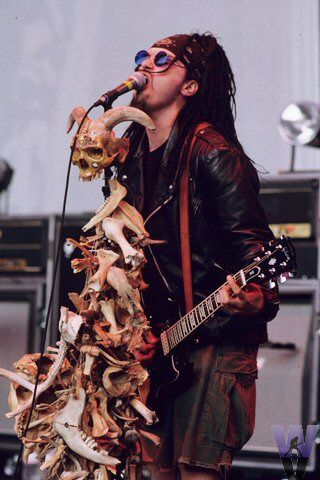 Al Jourgensen - Ministry and the sweet mic setups I love how he has so many creative ones! ❤️