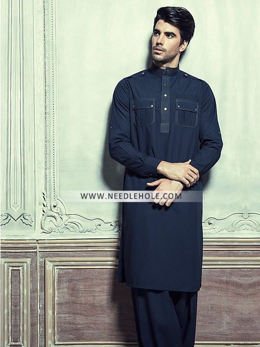 Double pocket kurta shalwar suit for men by dynasty fabrics. Buy designer kurta salwar designs double pocket kurta shalwaar online for eid and ramadan at needlehole