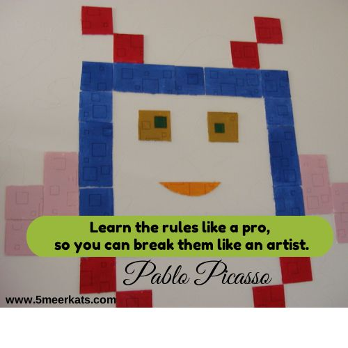 Learn the rules like a pro,so you can break them like an artist. #Picasso #artist #creative