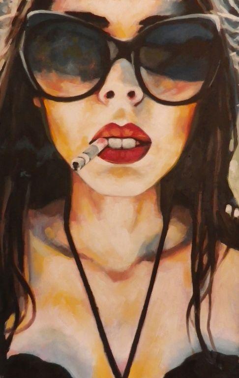 "Saatchi Online Artist: thomas saliot; Oil, 2013, Painting ""The peach"""