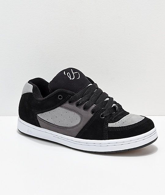 d3a6652c2b eS Accel OG Black, Charcoal & White Skate Shoes | ÉS SHOES en 2019 ...