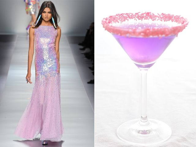 Blumarine fw 2012-13 / Cake cocktail with mirto liqueur