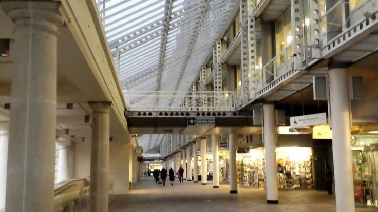 Colonnade Walk - between Victoria Train Station and Victoria Coach Stati...
