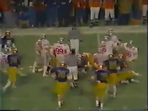 1981 liberty bowl navy vs ohio state