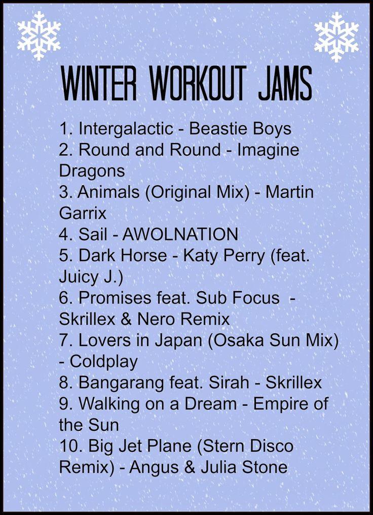 Hungry Gator Gal's Winter Workout Jams Playlist