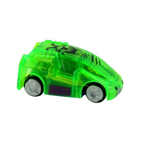 """Micro Chargers Light Racers Booster Pack - Green - Moose Toys - Toys""""R""""Us"""