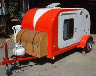 Teardrop trailer. I want one!