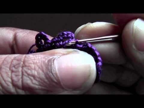 Tutorial Tuesday 18! Crochet Earrings - YouTube