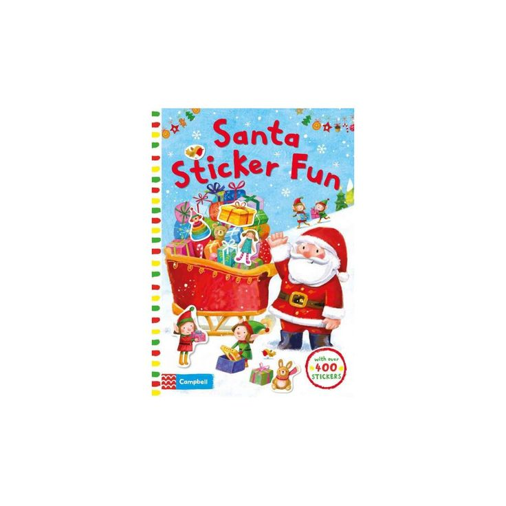 Santa Sticker Fun : With over 400 Stickers (Paperback)