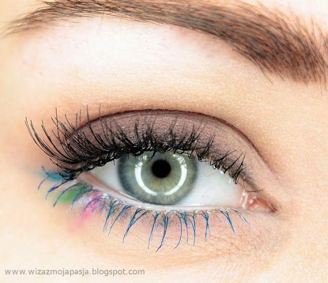 JAK ZACZĄĆ PRZYGODĘ Z CIENIAMI DO POWIEK, CZ. 4 – naturalny makijaż z kolorowym akcentem | Kosmeologika