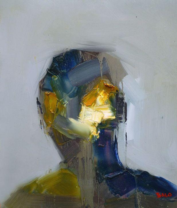 this isn't happiness™ (Broad brushstrokes, Steve Salo), Peteski