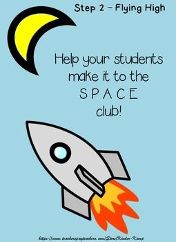 This is STEP TWO of THREE A writing journal to help new writers learn how to space between words.  Each journal page has a sentence for them to copy and then illustrate.The last page of the journal is a certificate for them to take home that they are now in the SPACE Club.