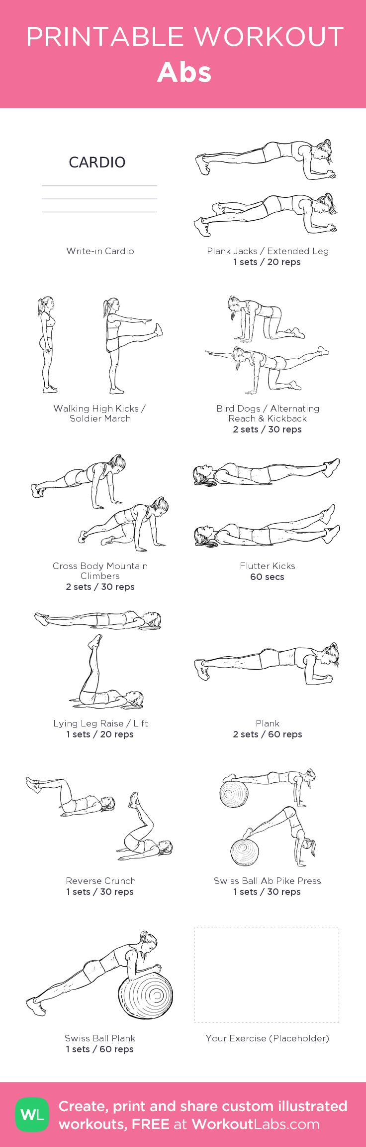 Ab Workout | Posted by: CustomWeightLossProgram.com