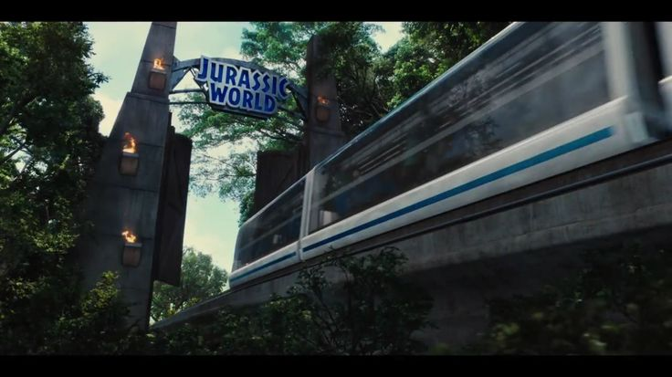 Jurassic World monorail | Welcome to Jurassic Park ...