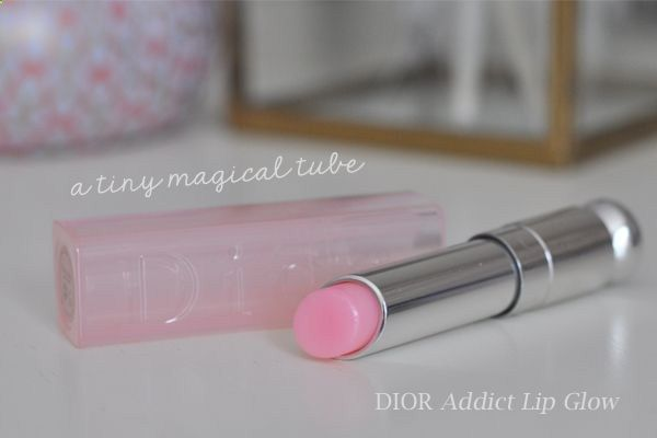 magical lipstick | self adjusting lipstick from Dior works with your skins pH to determine the right shade for you - the color will develop 3-5 minutes after application