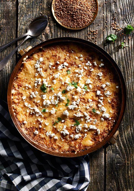 Zapiekanka z kaszy gryczanej i mięsa mielonego. Kuchnia Lidla - Lidl Polska. #lidl #Okrasa #kasza