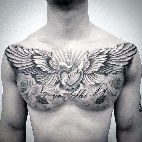 Ideas For Upper Chest Tattoo Ideas For Females In 2020 Cool