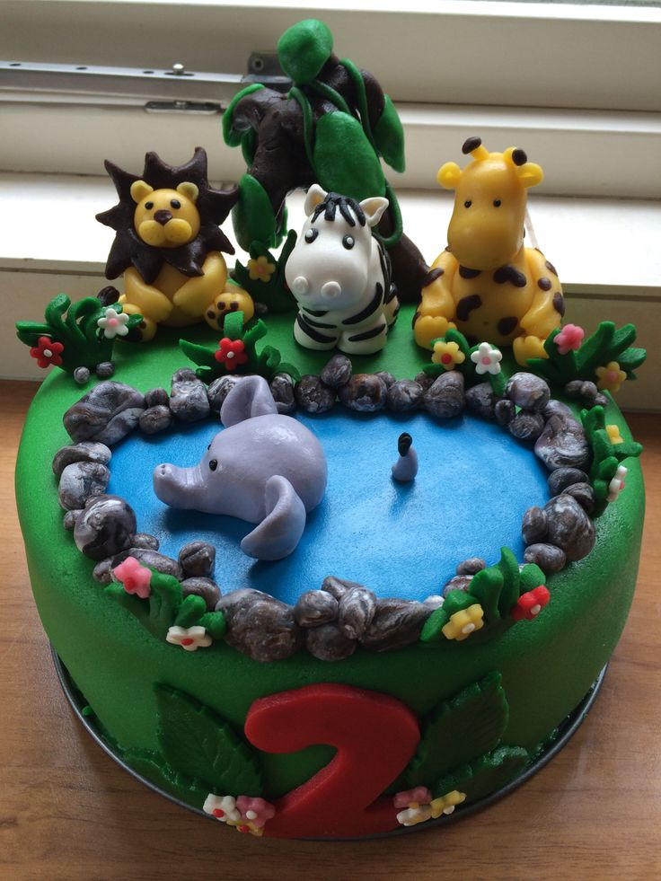 Jungle taart / cake