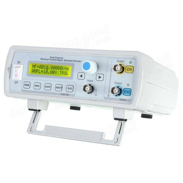 FY3224S 24MHz Dual-channel Arbitrary Waveform DDS Function Signal Generator Sine Square Wave Sweep Counter Sale - Banggood.com