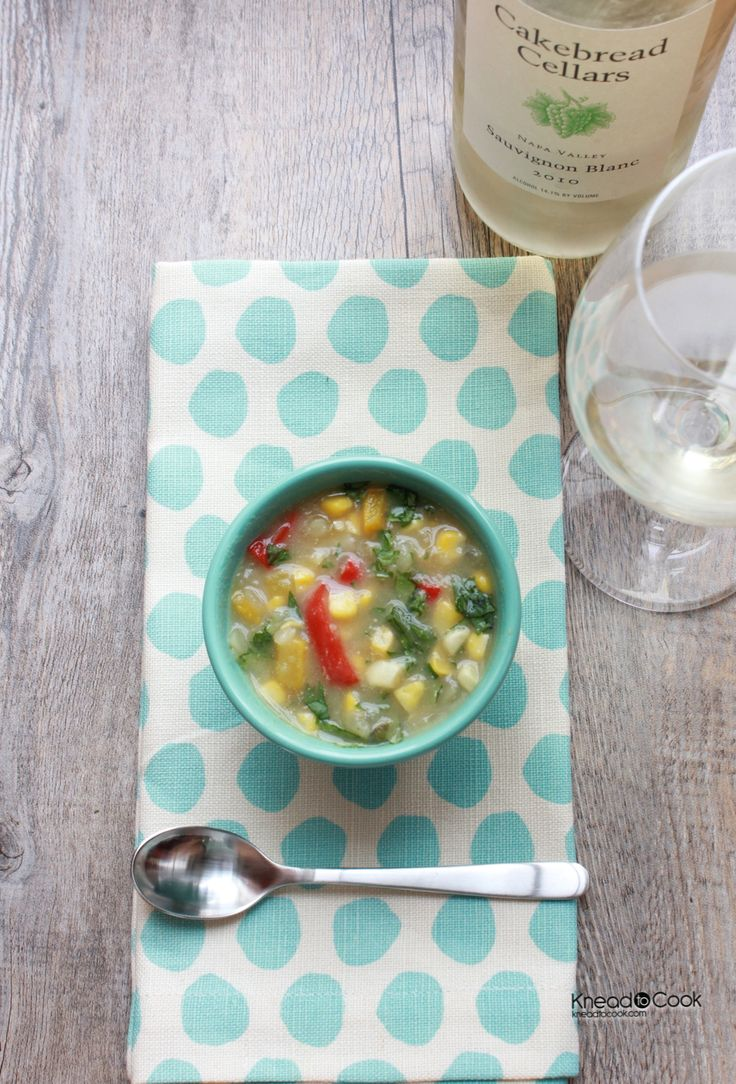 Healthy Corn Chowder | a.bit.wholesome | Pinterest