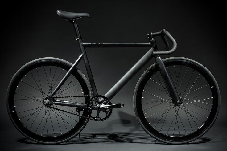 State Bicycle - Black Label Matte Black