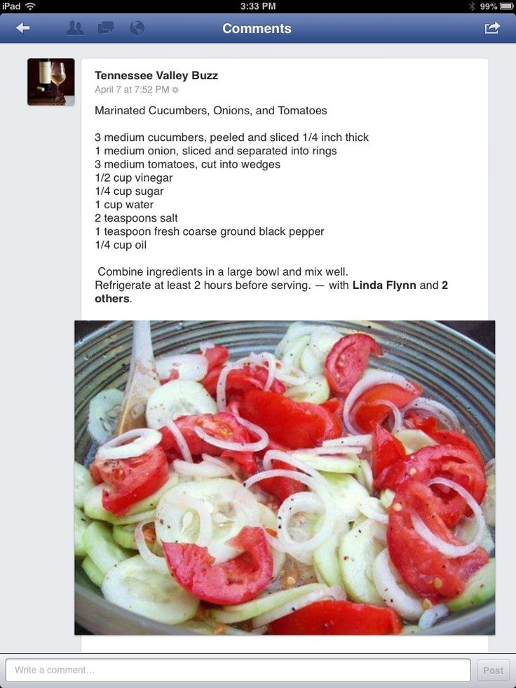 making this today!! very refreshing :-) Marinated onions & Cucumber Salad