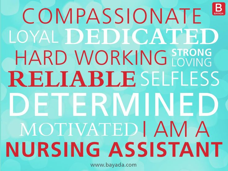We're celebrating National Nursing Assistant Week this week! Celebrate with us by pinning to a friend below and thanking them for their hard work and dedication to their clients!