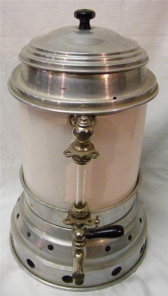 Vintage Retro Electric Commercial Coffee Maker Percolator