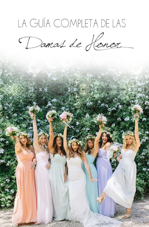 La Guía Completa de las Damas de Honor | El Blog de una Novia