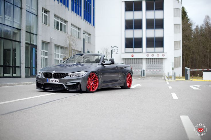 Car - custom wheels and tuning for BMW M4 Cabrio